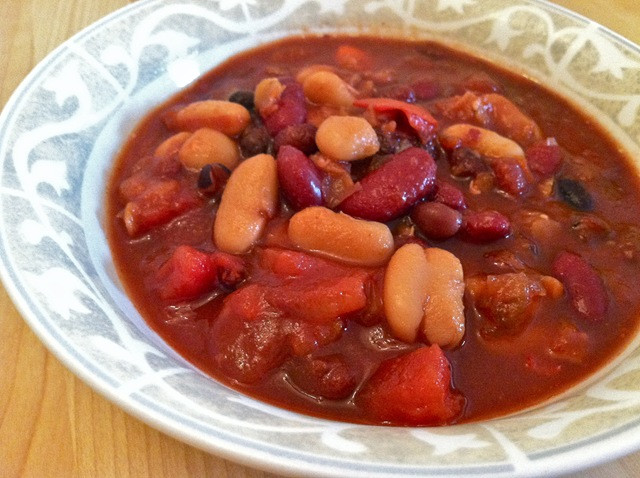 Crockpot Chili Vegetarian  Crock pot ve arian chili – Hungry Hungry Hippie