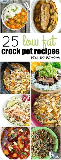 Crockpot Low Calorie Recipes  1000 images about COOK Slow Cooker Recipes on Pinterest