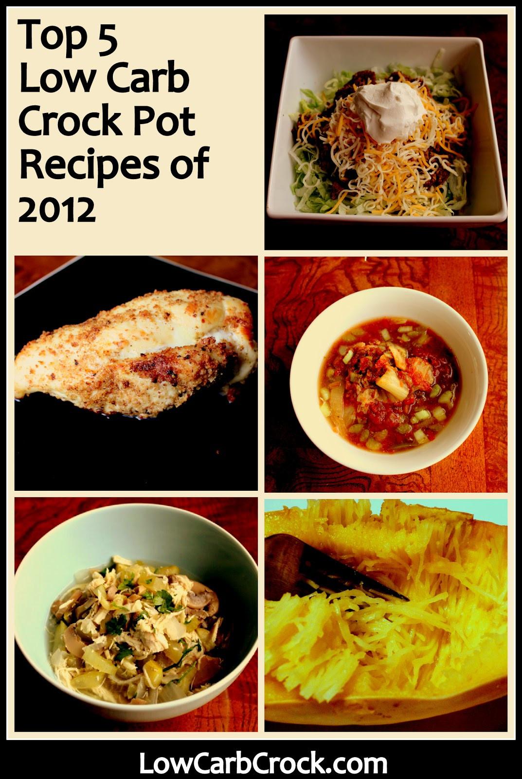 Crockpot Low Carb Recipes  Top 5 Low Carb Crock Pot Recipes of 2012