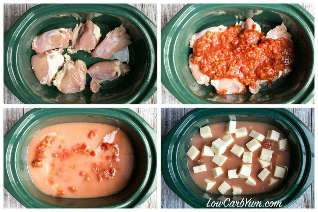 Crockpot Low Carb Recipes  Crock Pot Mexican Chicken Soup
