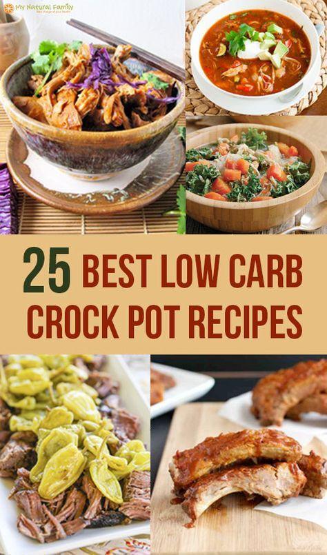 Crockpot Low Carb Recipes  The 25 Best Low Carb Crock Pot Recipes Low Calorie Too