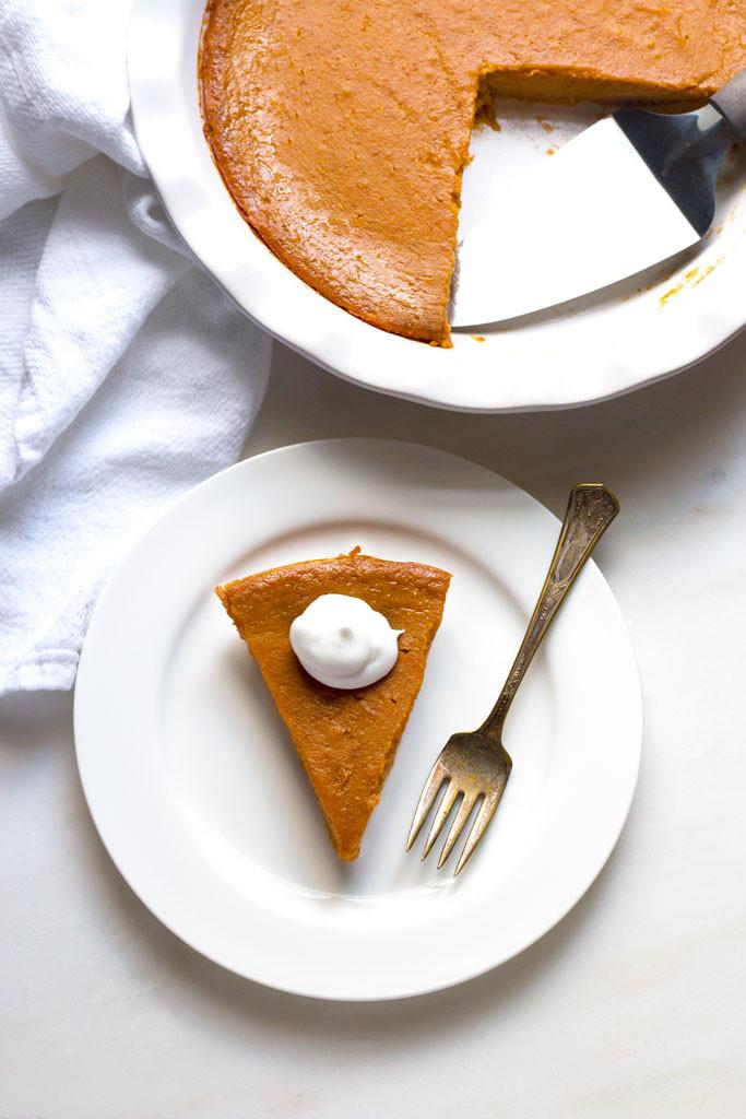 Crustless Dairy Free Pumpkin Pie Crustless Pumpkin Pie [Gluten Free and Dairy Free] Grain