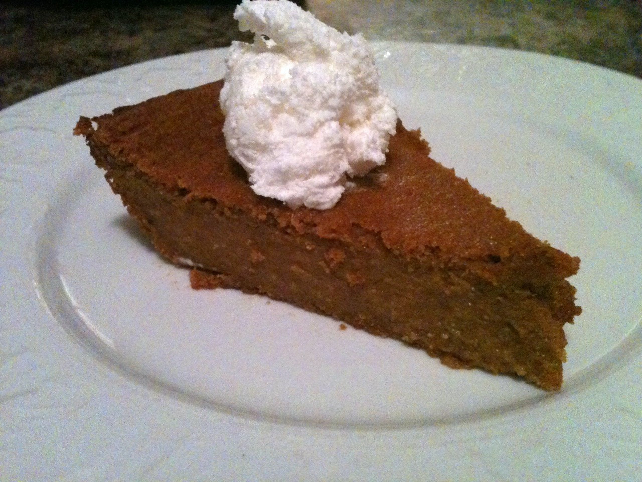 Crustless Dairy Free Pumpkin Pie Easy Crustless Pumpkin Pie The Fit Cookie
