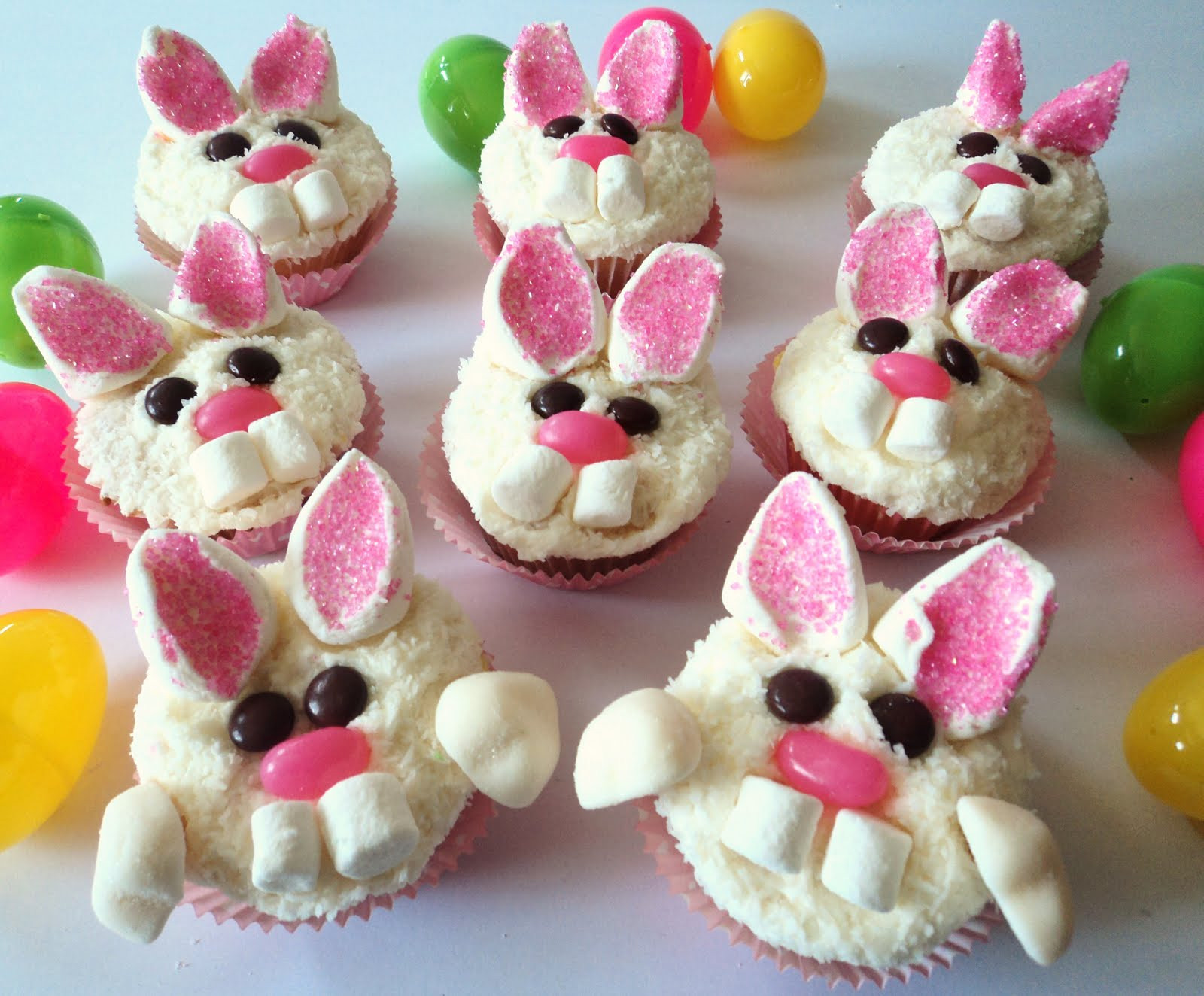 Cute Easter Cupcakes  Party Tales Cupcakes BUNNY CUTE Easter cupcakes for