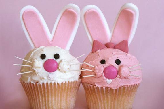 Cute Easter Cupcakes  Easy Easter Cupcakes For Kids and Adults family holiday