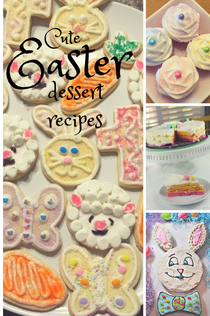 Cute Easter Desserts Recipes  Cute Easter Dessert Recipes Shopping Kim