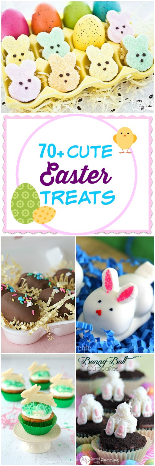 Cute Easy Easter Desserts  70 Cute Easter Treats Call Me PMc
