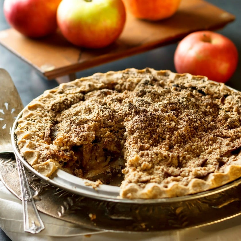Dairy Free Apple Pie Dairy and Gluten Free Apple Crumble Pie