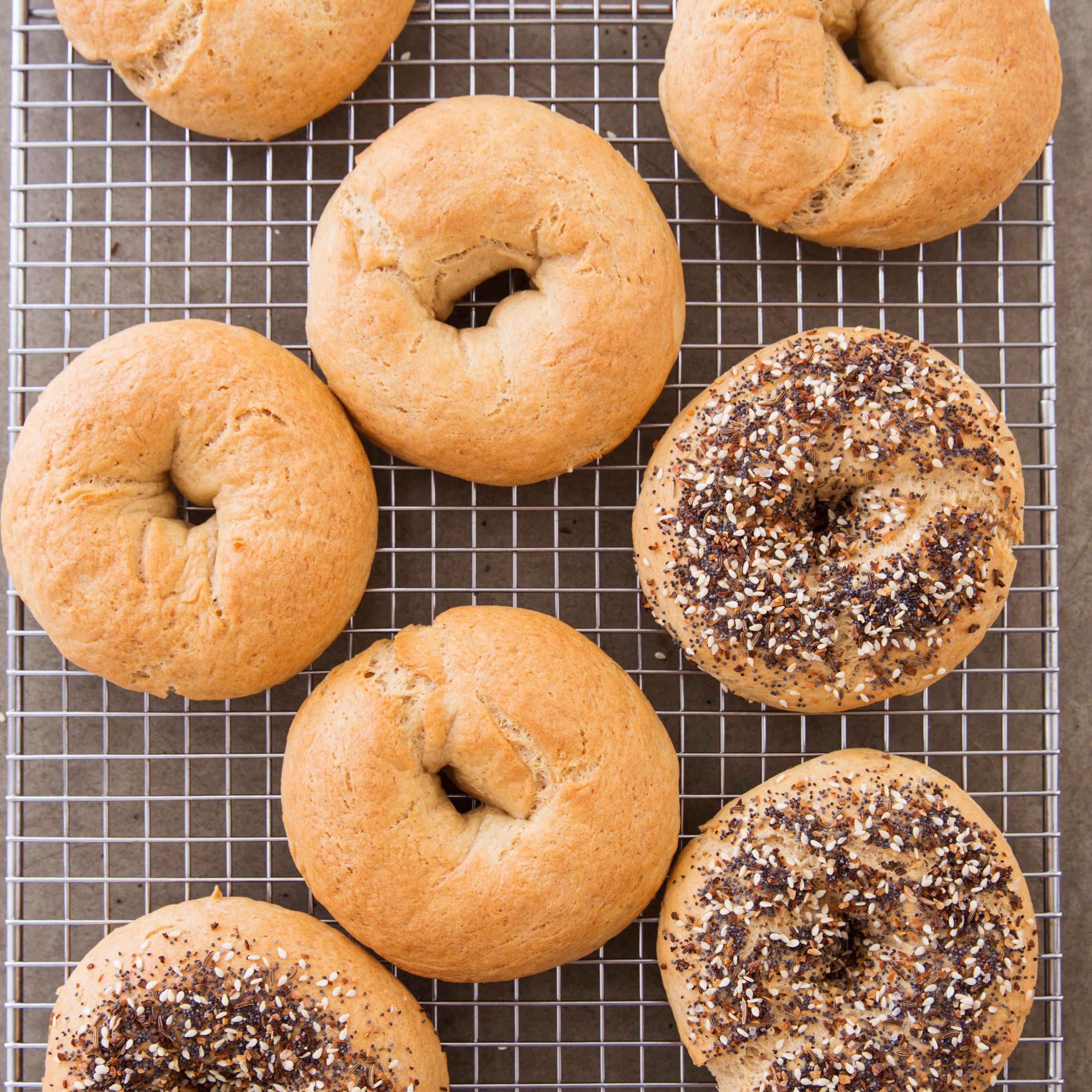 Dairy Free Bagels  best gluten free bagels online