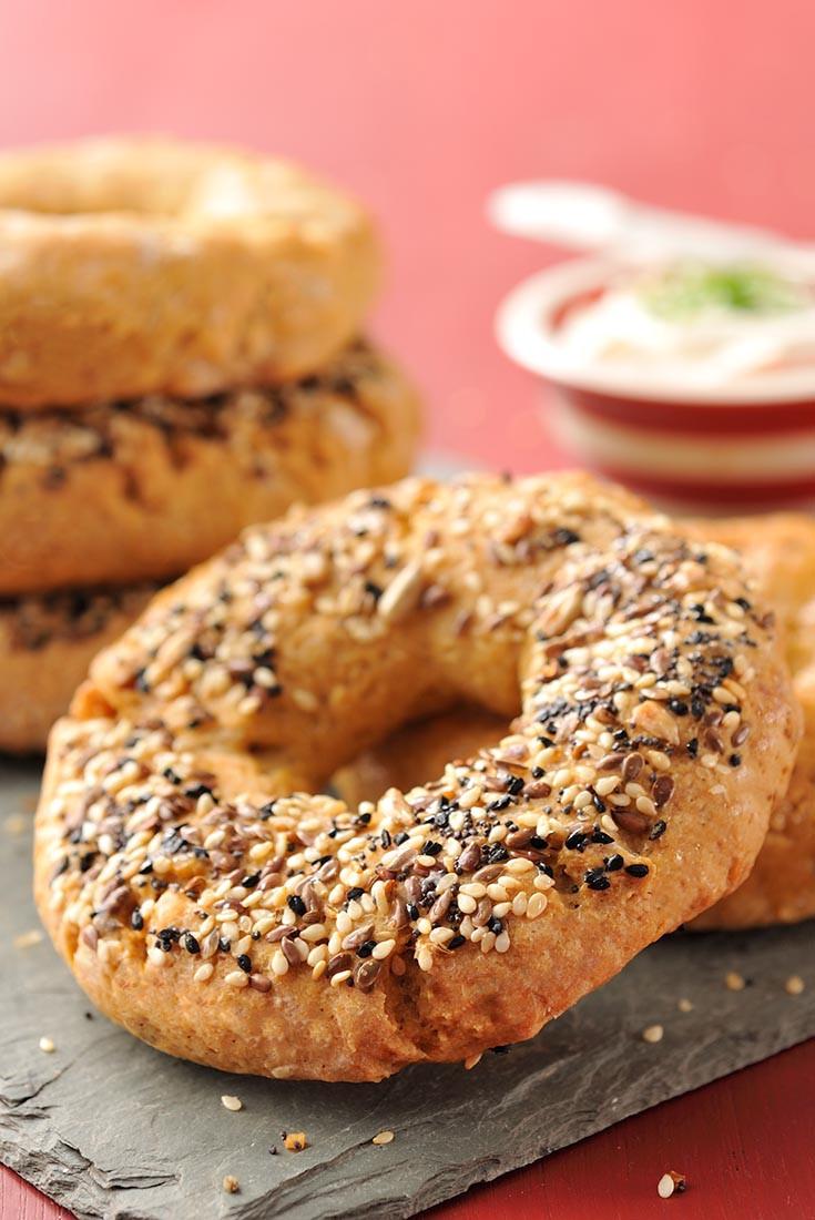 Dairy Free Bagels  Gluten Free Oat Bagels Recipe