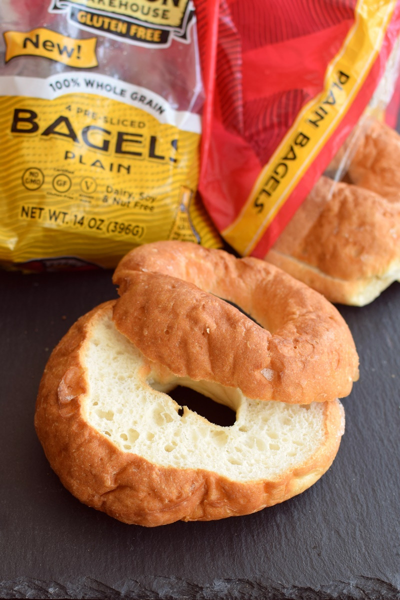 Dairy Free Bagels  Canyon Bakehouse Gluten Free Bread Review Loaves Buns