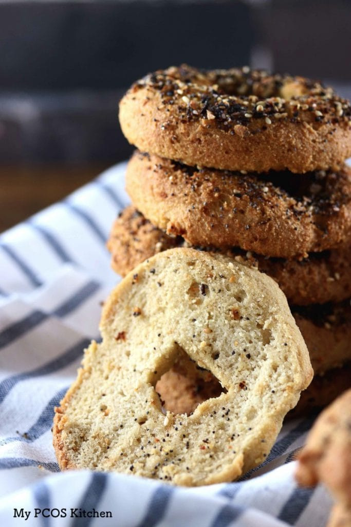 Dairy Free Bagels  Dairy free Keto Bagels Gluten free Low Carb My PCOS