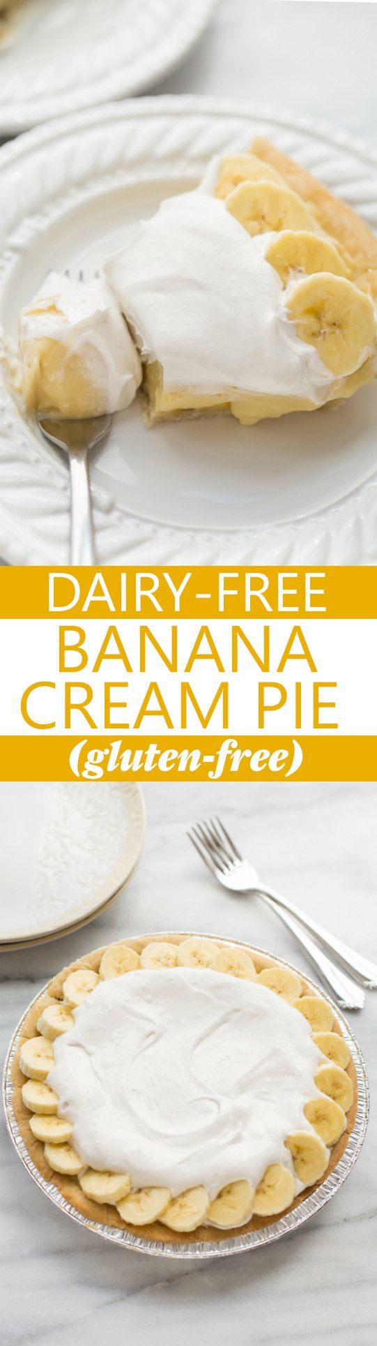Dairy Free Banana Cream Pie  Best 25 Dairy free snacks ideas on Pinterest