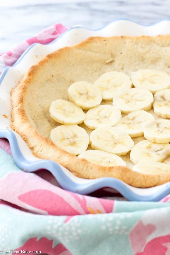 Dairy Free Banana Cream Pie  Nutella Banana Cream Pie grain free gluten free dairy