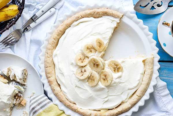 Dairy Free Banana Cream Pie  Gluten Free Banana Cream Pie Recipe
