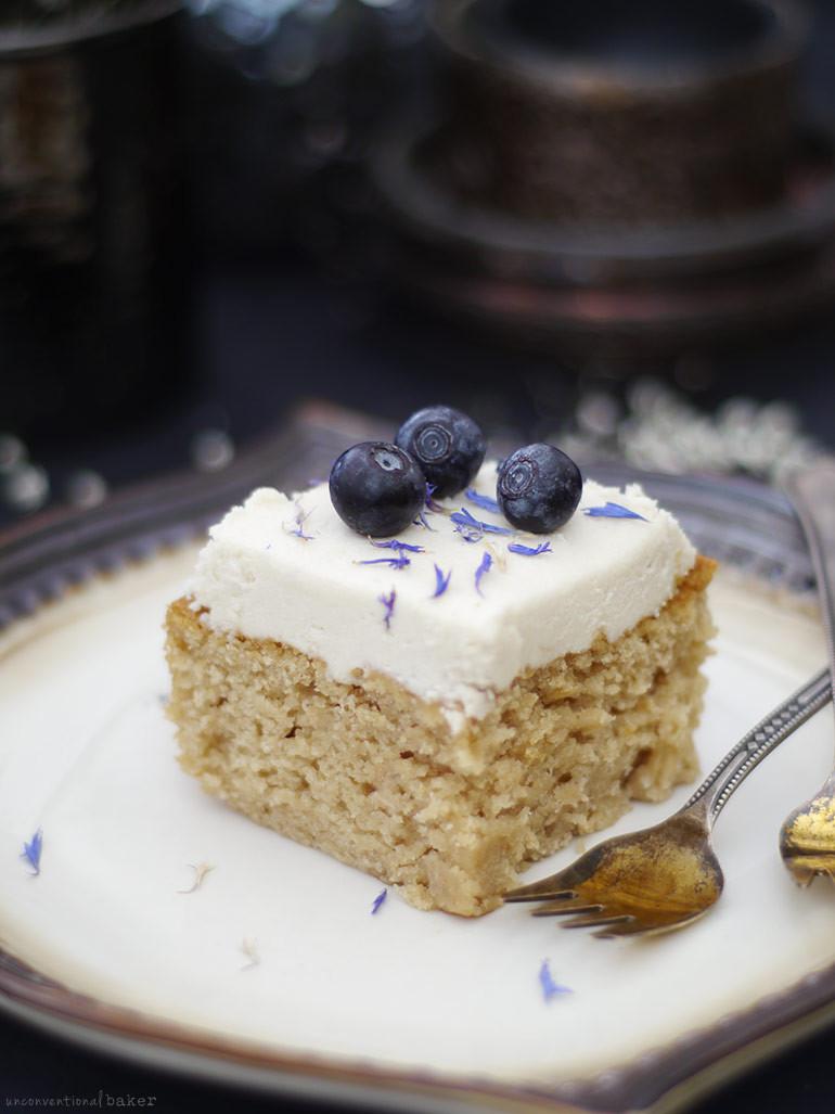 Dairy Free Birthday Cake Recipe  Classic Cashew Vanilla Birthday Cake l Unconventional Baker