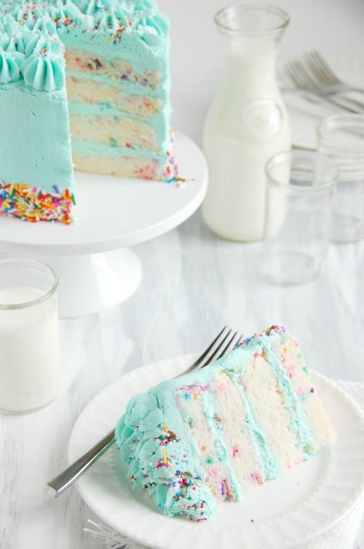 Dairy Free Birthday Cake Recipe  Funfetti Celebration Cake gluten & dairy free The