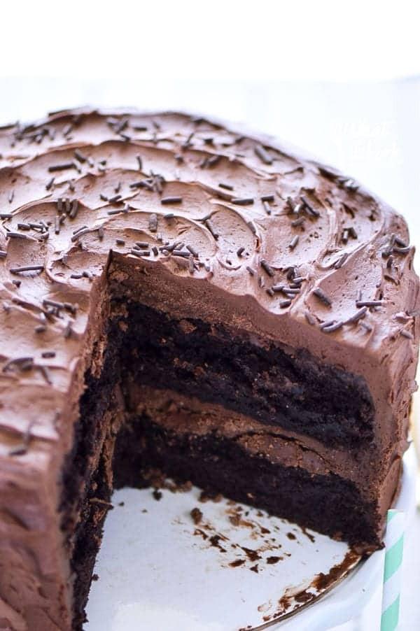 Dairy Free Birthday Cake Recipe  The Best Gluten Free Chocolate Cake Recipe What the Fork