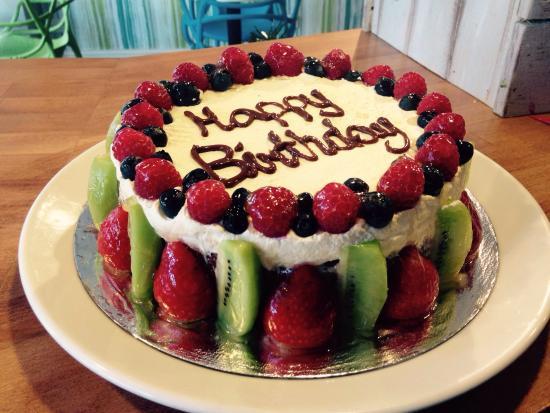Dairy Free Birthday Cake To Buy  Gluten free birthday cake made to order de Eden