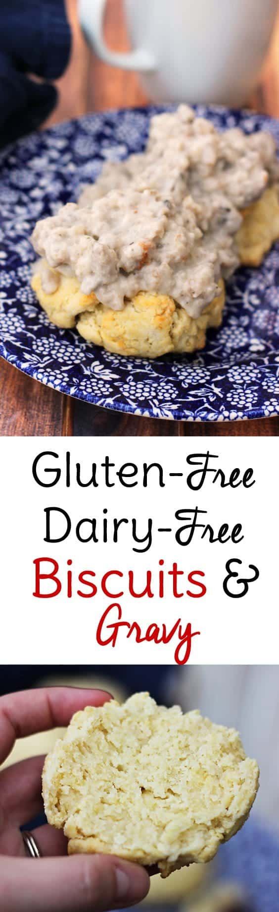 Dairy Free Biscuits And Gravy  Gluten Free Biscuits and Gravy Recipe