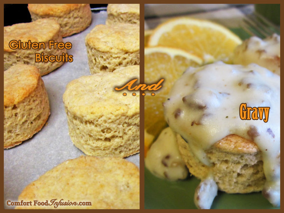 Dairy Free Biscuits And Gravy  Fluffy Biscuits fort Food Infusion