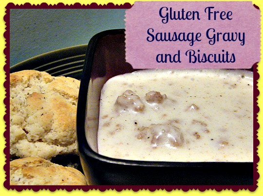 Dairy Free Biscuits And Gravy  Gluten Free Sausage Gravy and Biscuits Recipe All the