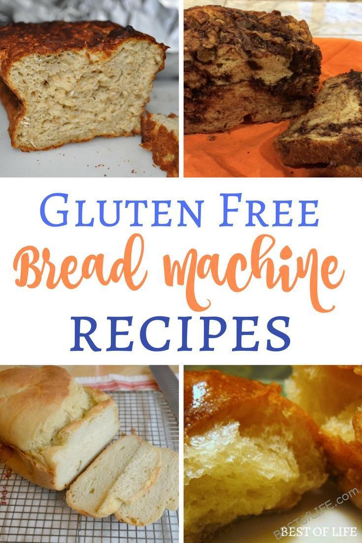 Dairy Free Bread Machine Recipe  Gluten Free Bread Machine Recipes to Bake The Best of Life