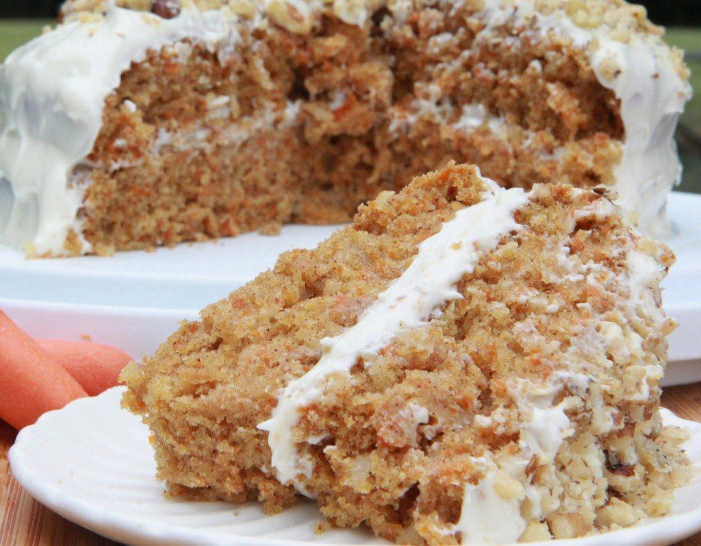 Dairy Free Cake Recipe  Moist & Fluffy Gluten Free Carrot Cake Recipe