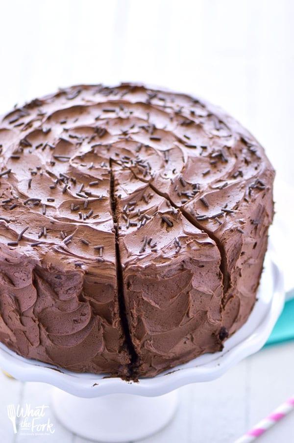 Dairy Free Cake Recipe  The Best Gluten Free Chocolate Cake Recipe What the Fork