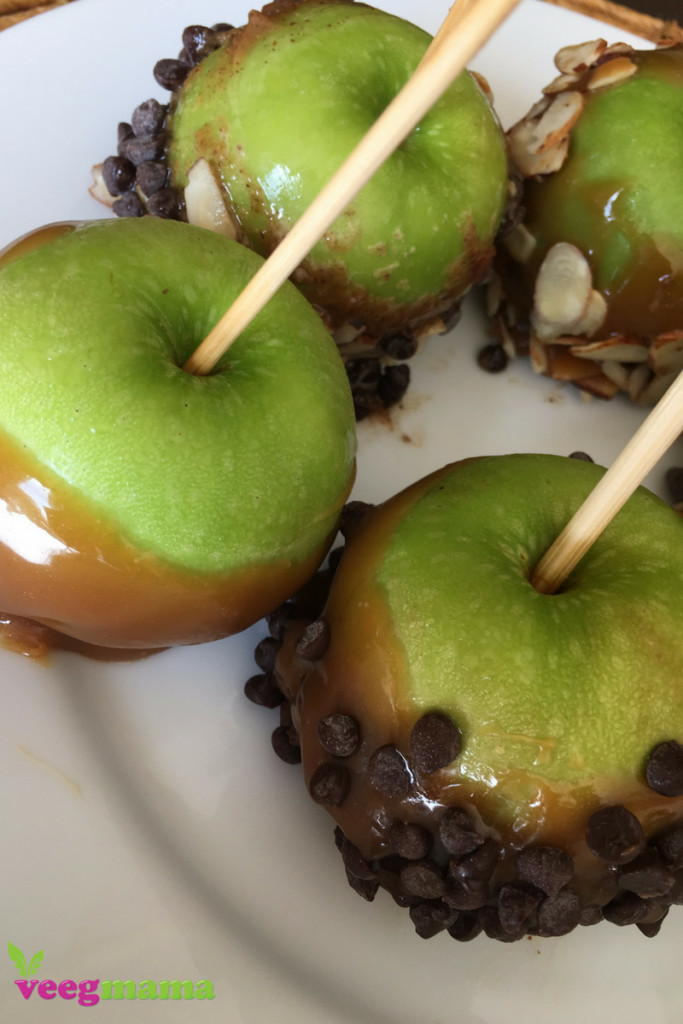 Dairy Free Caramel Apples  Dairy Free Healthier Caramel Apples VeegMama