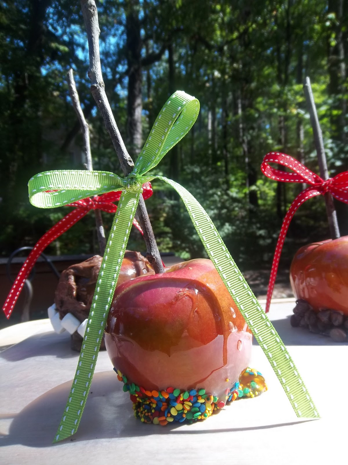 Dairy Free Caramel Apples  Homegrown Beanes Caramel Apples Dairy Free