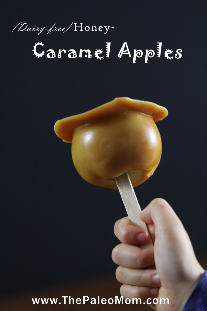 Dairy Free Caramel Apples  Caramel Apples Dairy Free AIP friendly The Paleo Mom
