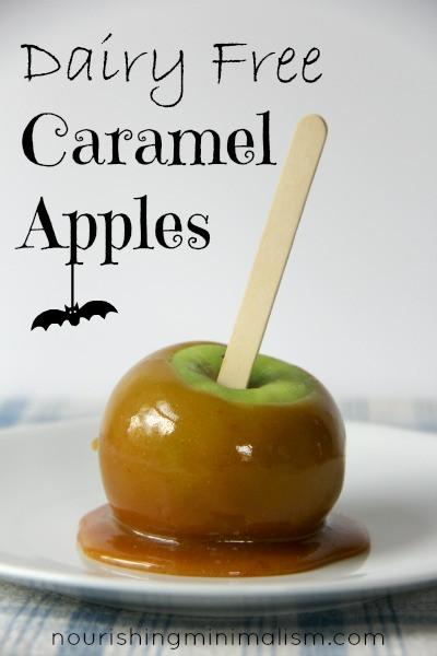 Dairy Free Caramel Apples  Dairy Free Caramel Apples Nourishing Minimalism