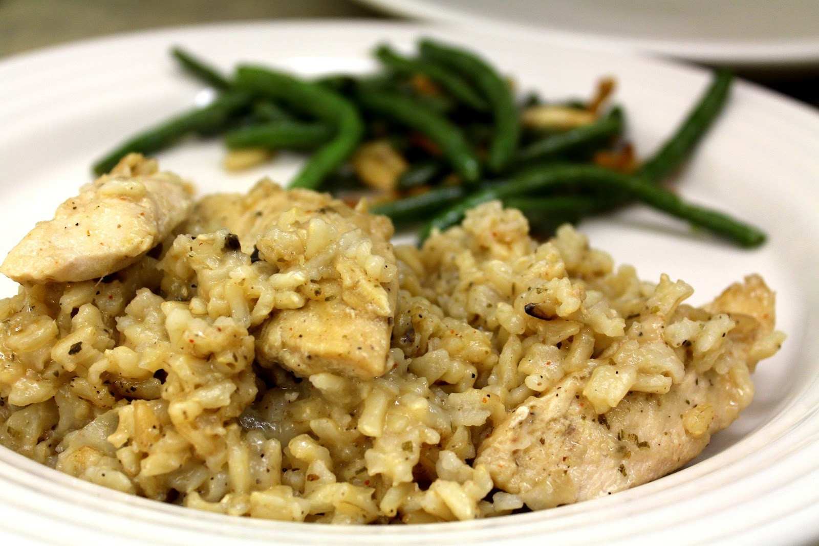Dairy Free Chicken And Rice Casserole  Busy Girl Recipes Chicken and Rice Casserole with Almond Milk