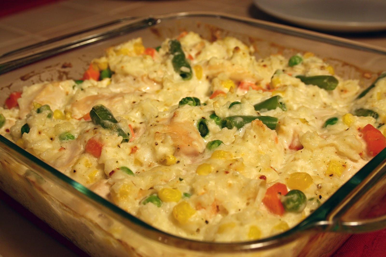 Dairy Free Chicken And Rice Casserole  gluten free chicken rice casserole
