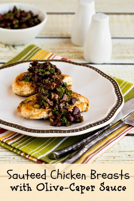 Dairy Free Chicken Breast Recipes  Sauteed Chicken Breasts Recipe with Olive and Caper Sauce