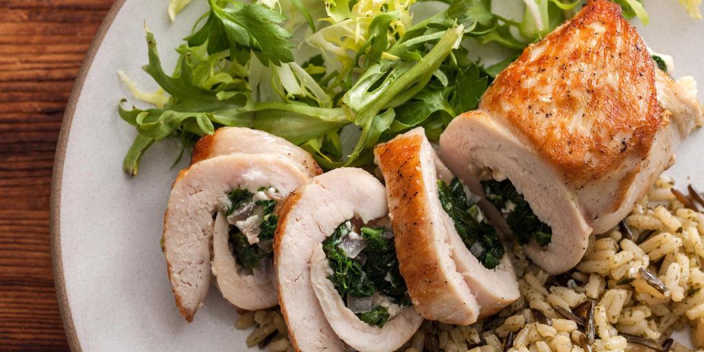 Dairy Free Chicken Breast Recipes  stuffed chicken breast