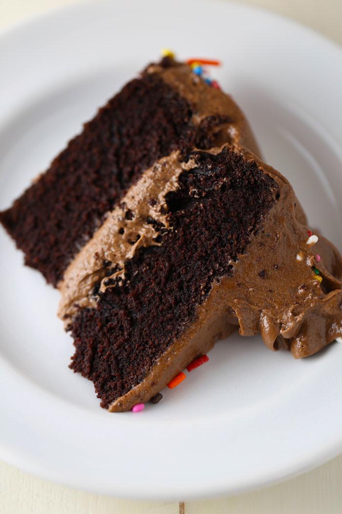 Dairy Free Chocolate Cake  gluten free dairy free chocolate cake