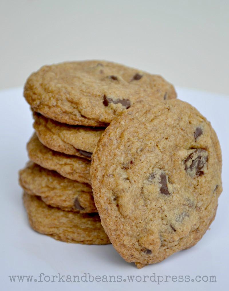 Dairy Free Chocolate Chip Cookies  Gluten free Vegan Chocolate Chip Cookies Updated Fork