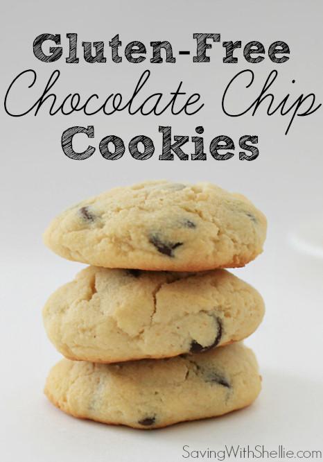 Dairy Free Chocolate Chip Cookies  Gluten Free Chocolate Chip Cookies