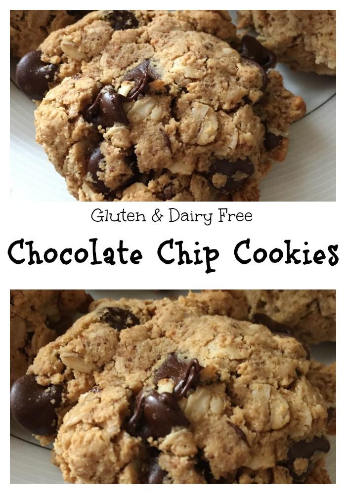 Dairy Free Chocolate Chip Cookies  Chocolate Chip Cookies Gluten Dairy Free