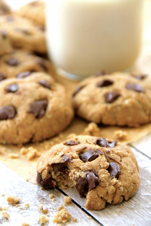 Dairy Free Chocolate Chip Cookies  gluten free vegan chocolate chip cookies running with