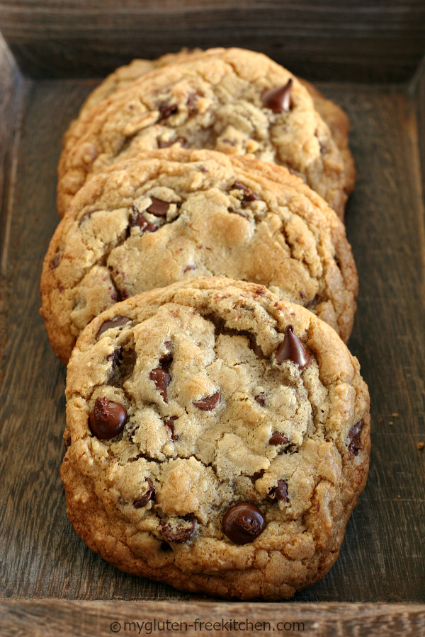 Dairy Free Chocolate Chip Cookies  Giant Gluten Free Chocolate Chip Cookie All Created