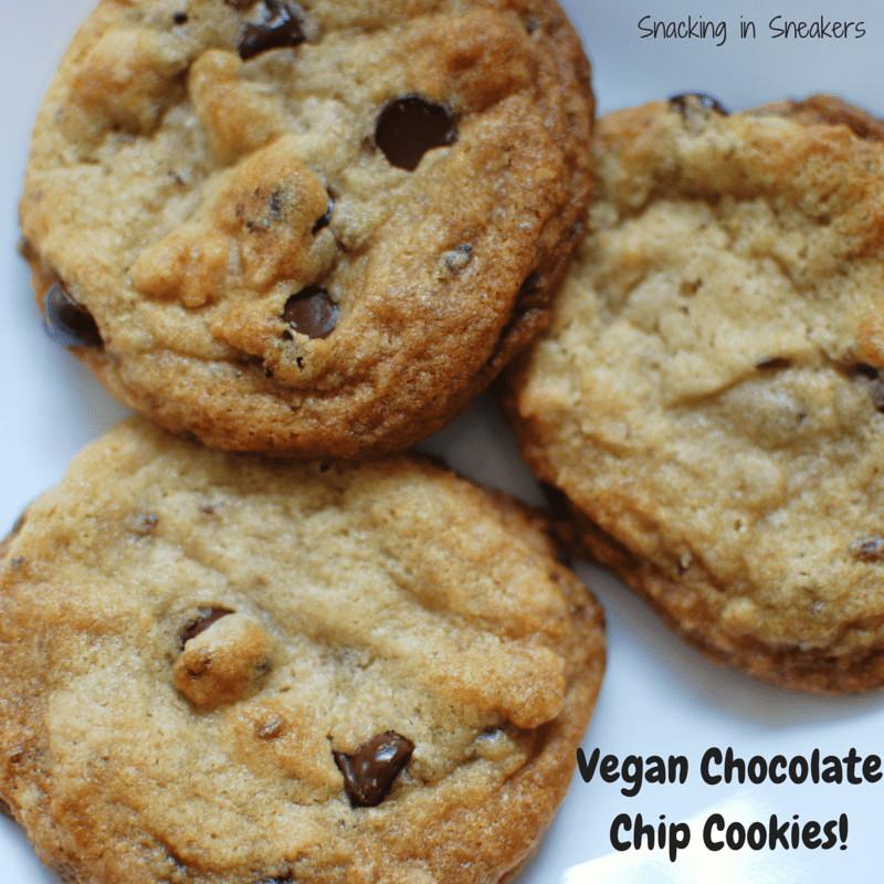 Dairy Free Chocolate Chip Cookies  Vegan Chocolate Chip Cookies Dairy Free Egg Free & Soy