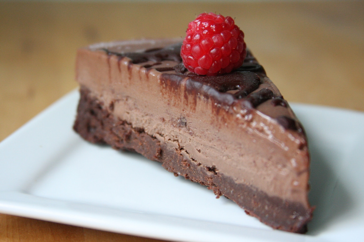 Dairy Free Chocolate Desserts  Chocolate Brownie Icecream Cake