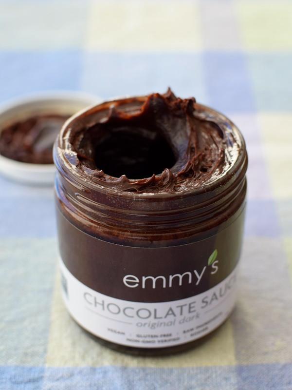 Dairy Free Chocolate Sauce  Emmy s Chocolate Sauce Review Raw Dairy Free Vegan