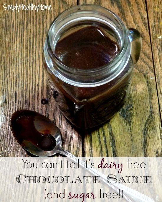 Dairy Free Chocolate Sauce  17 Best images about Low Carb & Dairy Free on Pinterest