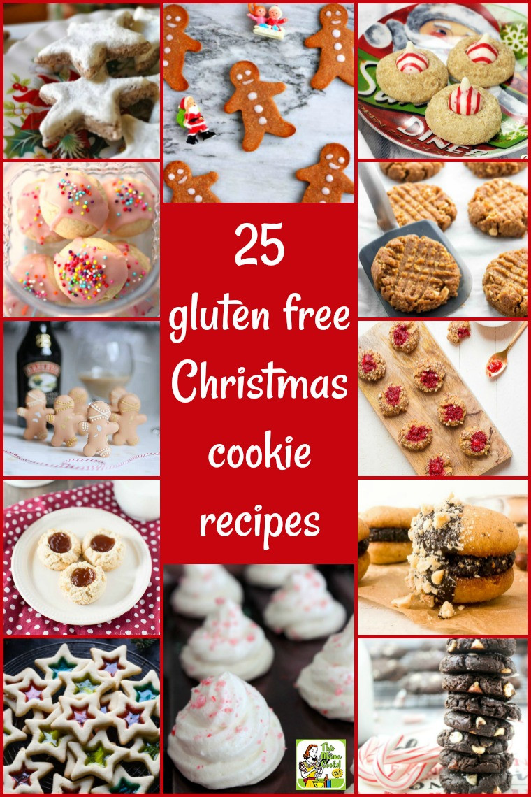 Dairy Free Christmas Cookies  25 gluten free Christmas cookie recipes for your holiday
