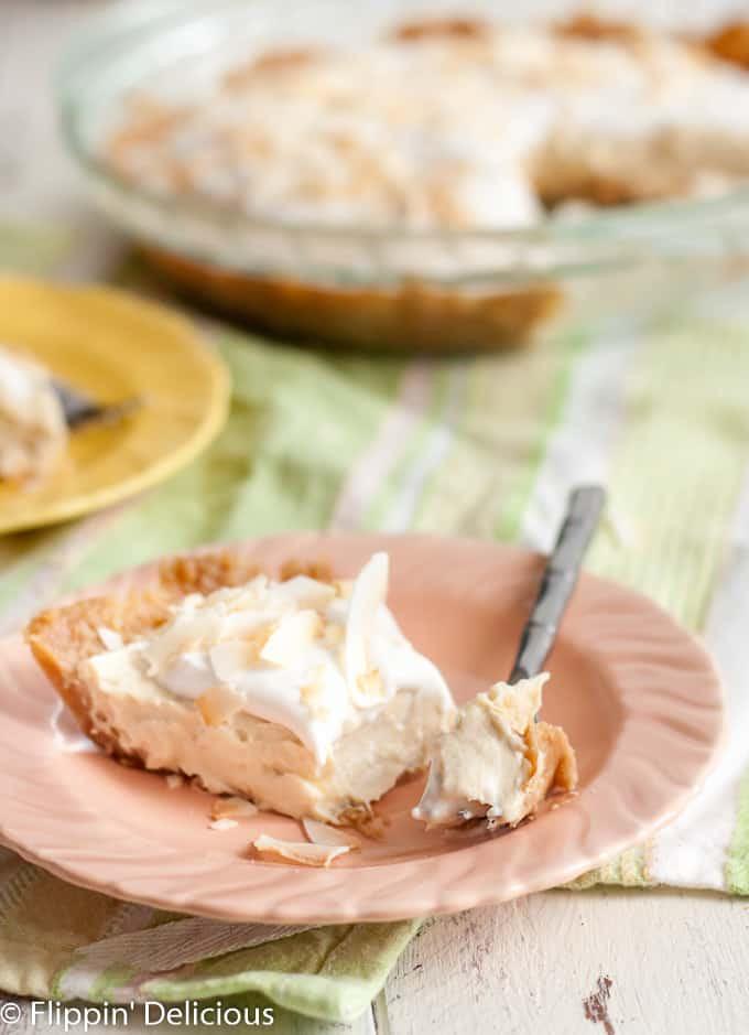 Dairy Free Coconut Cream Pie  Gluten Free Dairy Free Coconut Cream Pie