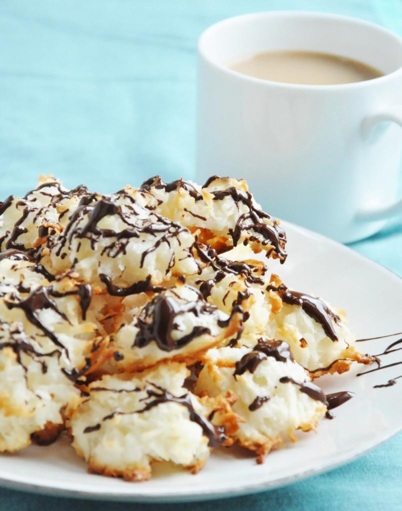 Dairy Free Coconut Macaroons  5 Ingre nt Healthy Coconut Macaroons gluten free low